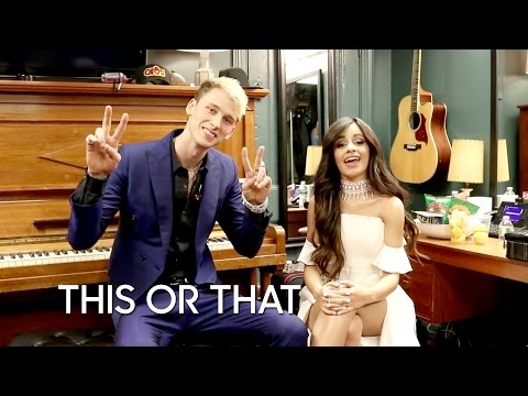 This or That: Machine Gun Kelly and Camila Cabello