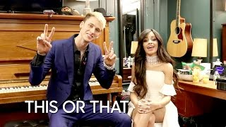 Would You Rather: Machine Gun Kelly And Camila Cabello