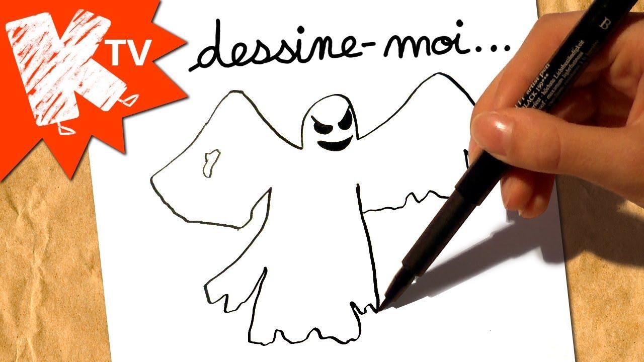 Dessine Moi Un Fantome Dessin Halloween Youtube