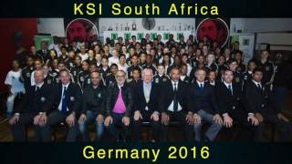 KSI Karate South African Team_World Championships_Germany 2016