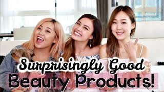 Beauty Products That We Were Pleasantly Surprised With ft. Meejmuse & HeyitsFeiii