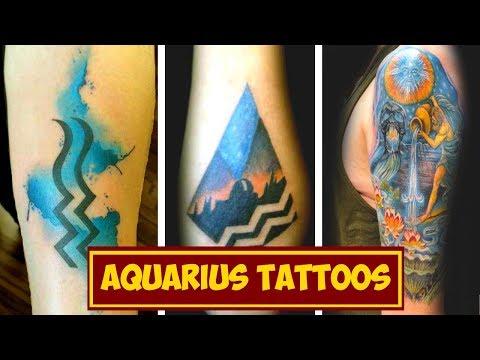 Zodiac Signs Tattoos: Aquarius