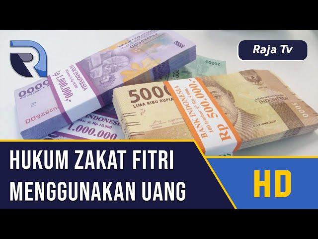 Hukum Zakat Fitrah dengan Uang - Ustad Abdul Halim