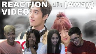 Official MV  ปลิว Away Ploychompoo Jannine MV Reaction