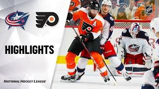 NHL Highlights   Blue Jackets @ Flyers 10/26/19