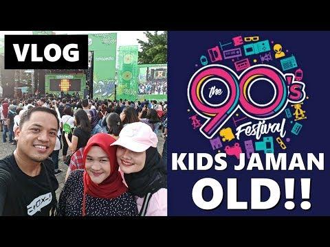 GENERASI 90AN! 90s FESTIVAL JAKARTA | Vlog Keluarga | Vlog Indonesia Mp3