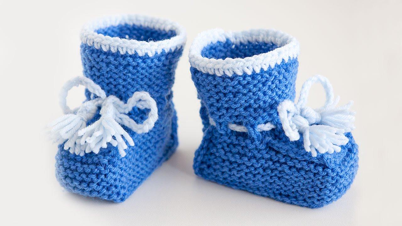 схема вязания носков на двух спицах для начинающих