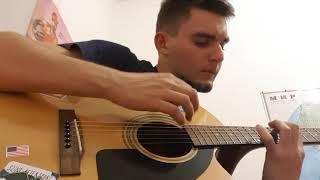 Ругань из-за стены Noize MC Cover (кавер) на гитаре (FULL HD)