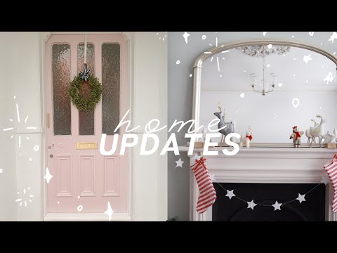 My dream pink front door ✨ and other home renovation updates | DIYary