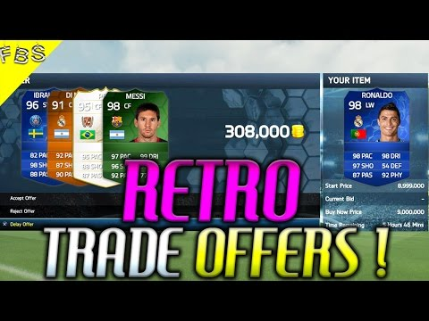 FIFA 14 : *TRADE* OFFERS *RETRO* + MASSIVE PACK OPENING