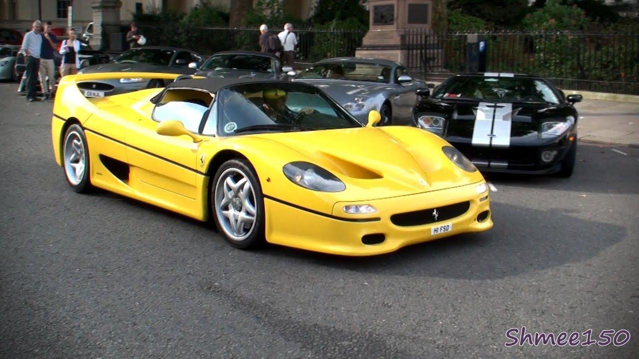 Ferrari F50 Ride Startup HUGE Revs YouTube