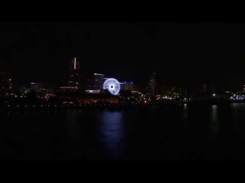 横浜夜景30分! Feel YOKOHAMA!! 30mins night view with 1080 HD