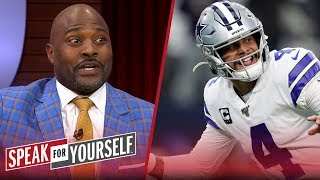Dak Prescott is wise to hold out for a massive contract — Marcellus Wiley | NFL | SPEAK FOR YOURSELF
