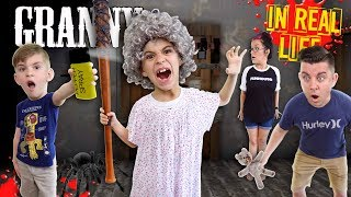 granny horror game in real life pepper spray update funhouse family