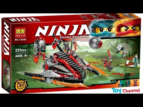 Lắp Ráp Lego Ninjago Xe Cỗ Máy Xâm Lược Vermilion Thiết Kế Lạ Toy Channel