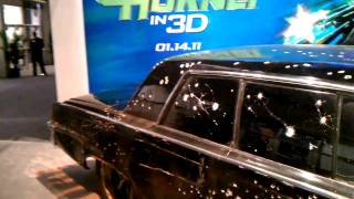 CES 2011 - THE GREEN HORNETs CAR 1965 Chrysler Imperial @ SONY MEGA BOOTH
