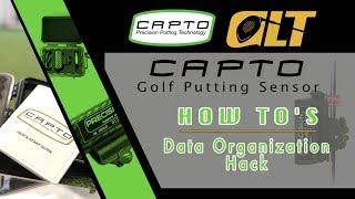 Capto Putting Sensor | Data Organization Hack