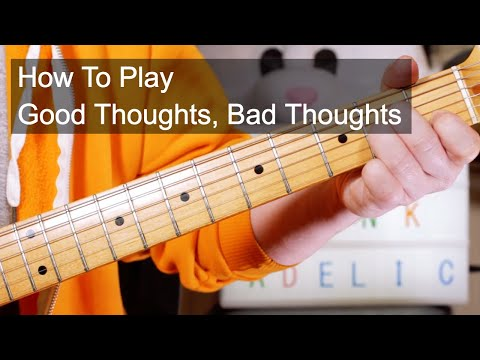 'Good Thoughts, Bad Thoughts' Funkadelic Guitar Lesson