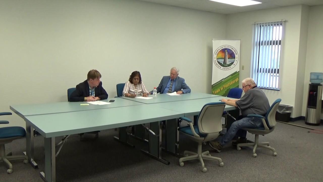 Town of Plattsburgh Meeting  7-25-19