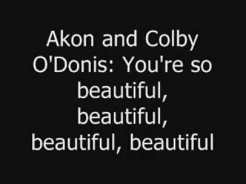 Beautiful Akon-Lyrics