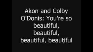 Beautiful Akon-Lyrics