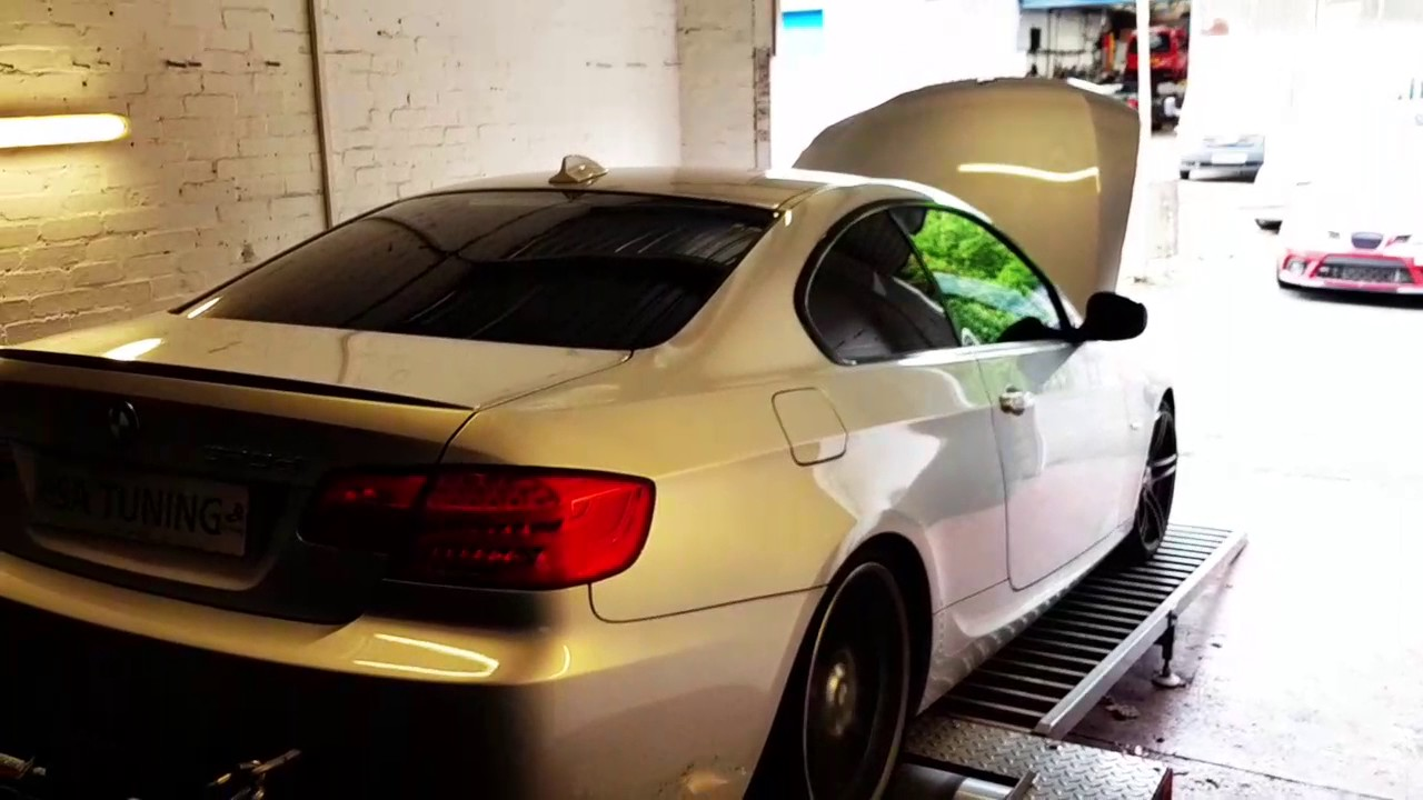 BMW 320d DPF,EGR and Stage1 Remap
