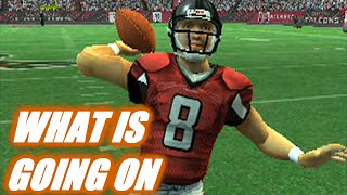 EVERYTHING WENT WRONG MADDEN 2007 FALCONS FRANCHISE VS BEARS - s6w12