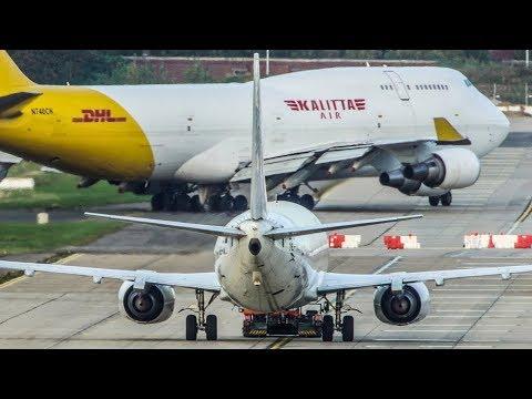 """BOEING 747 vs. BOEING 737 - """"Look at me , brother"""" (4K)"""