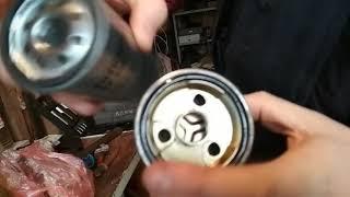 замена топливного фильтра Raf 4 2.2D-CAT