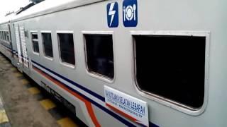 [Datang & Pergi] KA Kutojaya Selatan Lebaran di Stasiun Cicalengka (Sore ga Ai Deshou)