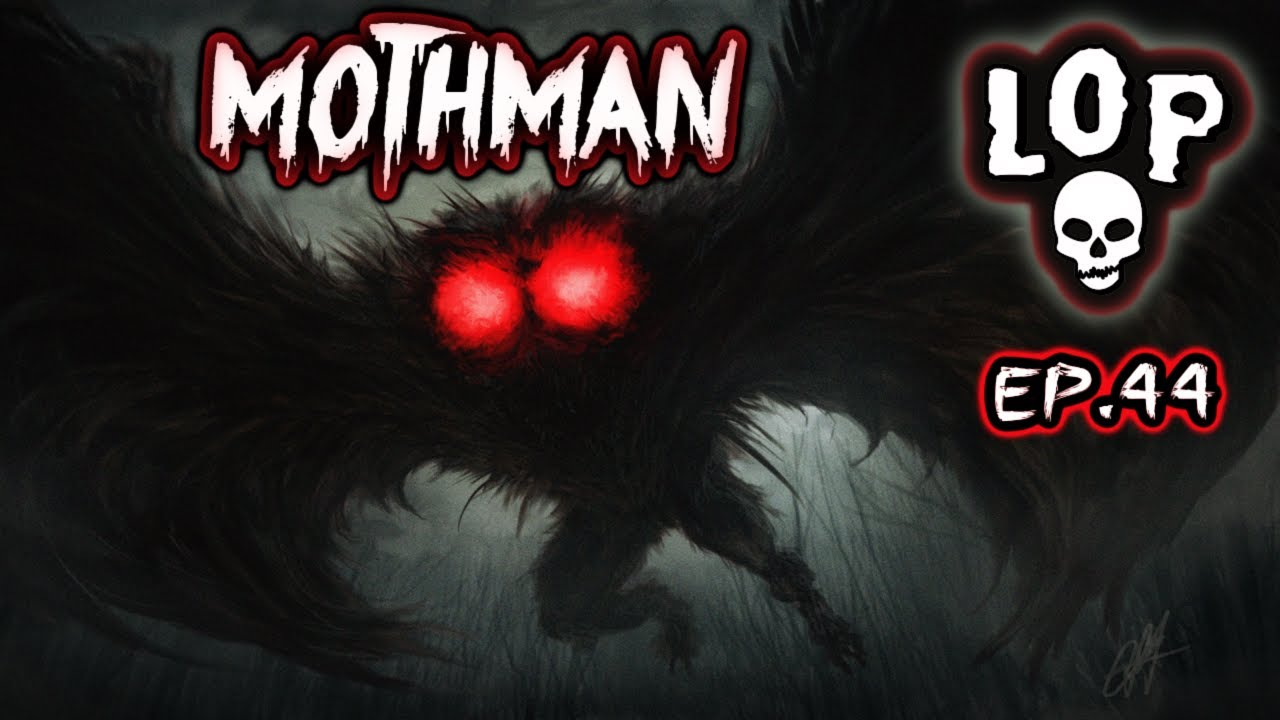 Download The Mystifying Mothman: Caused The Deadliest Bridge Disaster In US History - Lights Out Podcast #44