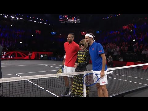 Match Highlights:   Federer v  Kyrgios, Day 2, September 21 2019