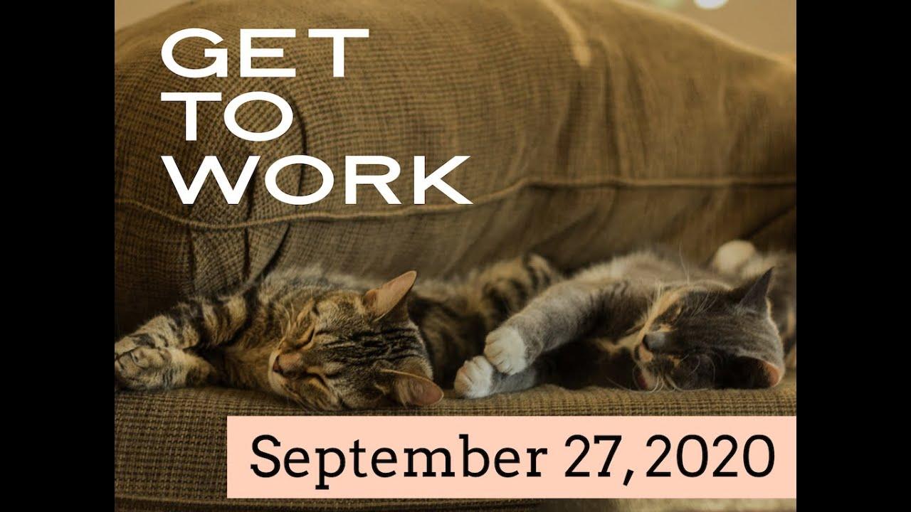 """""""Get to Work"""" - Online Worship"""