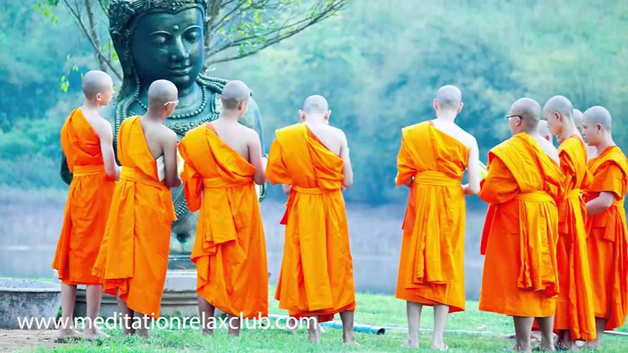 Meditation Music Buddhist | Om Meditation Music, Positive Thinking ...