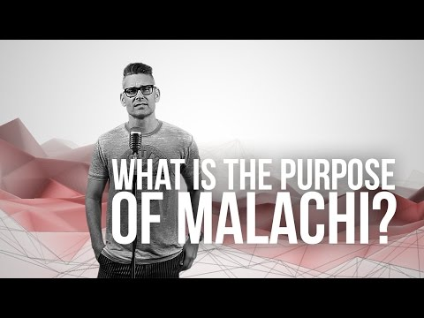 920. What Is The Purpose Of Malachi?