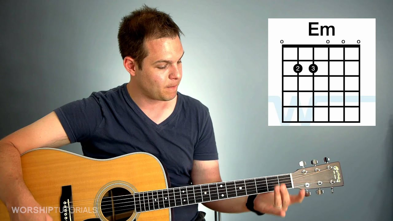 Guitar Lesson - How to play chords in the key of G (G, C, D, Em) - YouTube