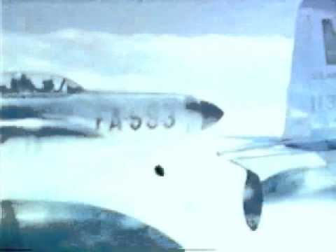 Flying the F94C Starfire in 1954