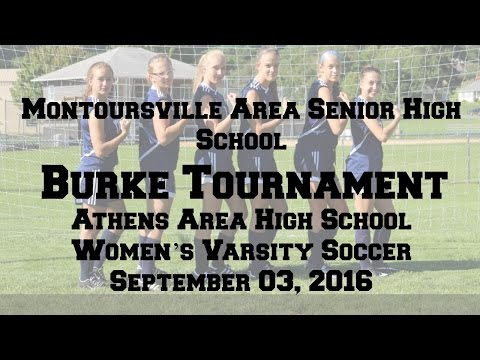 Women's Soccer Montoursville Area Senior High School Class 2018