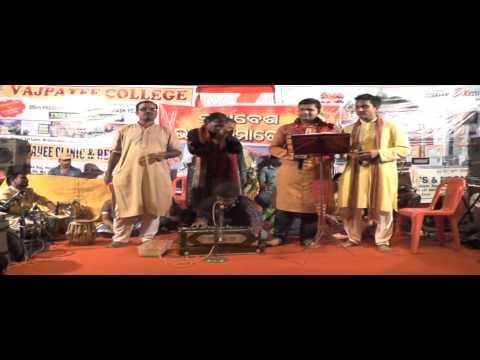 Prabhat and Sibsankar Performing Dholia Song on Sunabesa Devotional Bhajan Programe 2015