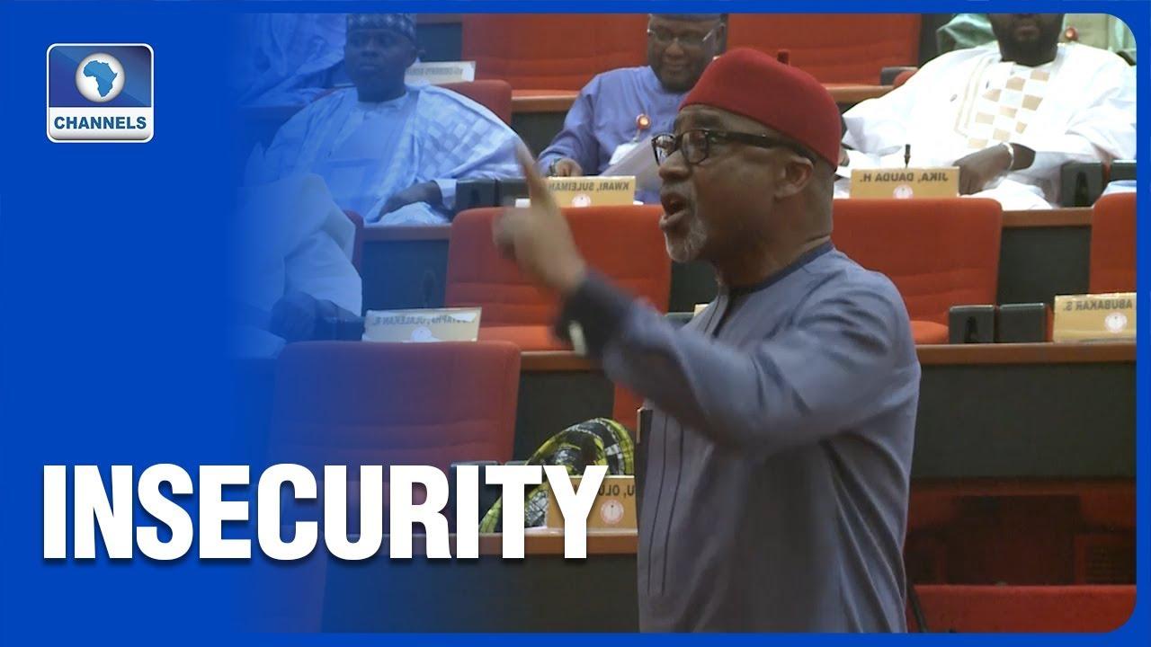 Download FULL VIDEO: Senator Abaribe Asks President Buhari To Resign