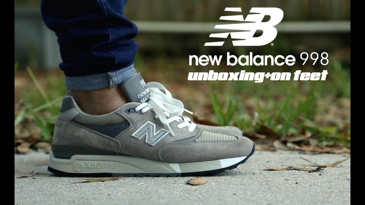 newest 8cf60 598ab New Balance 998 Unboxing + On Feet