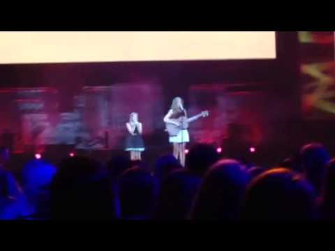 Lennon and Maisy, That's What's Up, Cover @ We Day MN