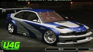 BMW M3 GTR Most Wanted Need For Speed Underground 2 Mod Spotlight U4G
