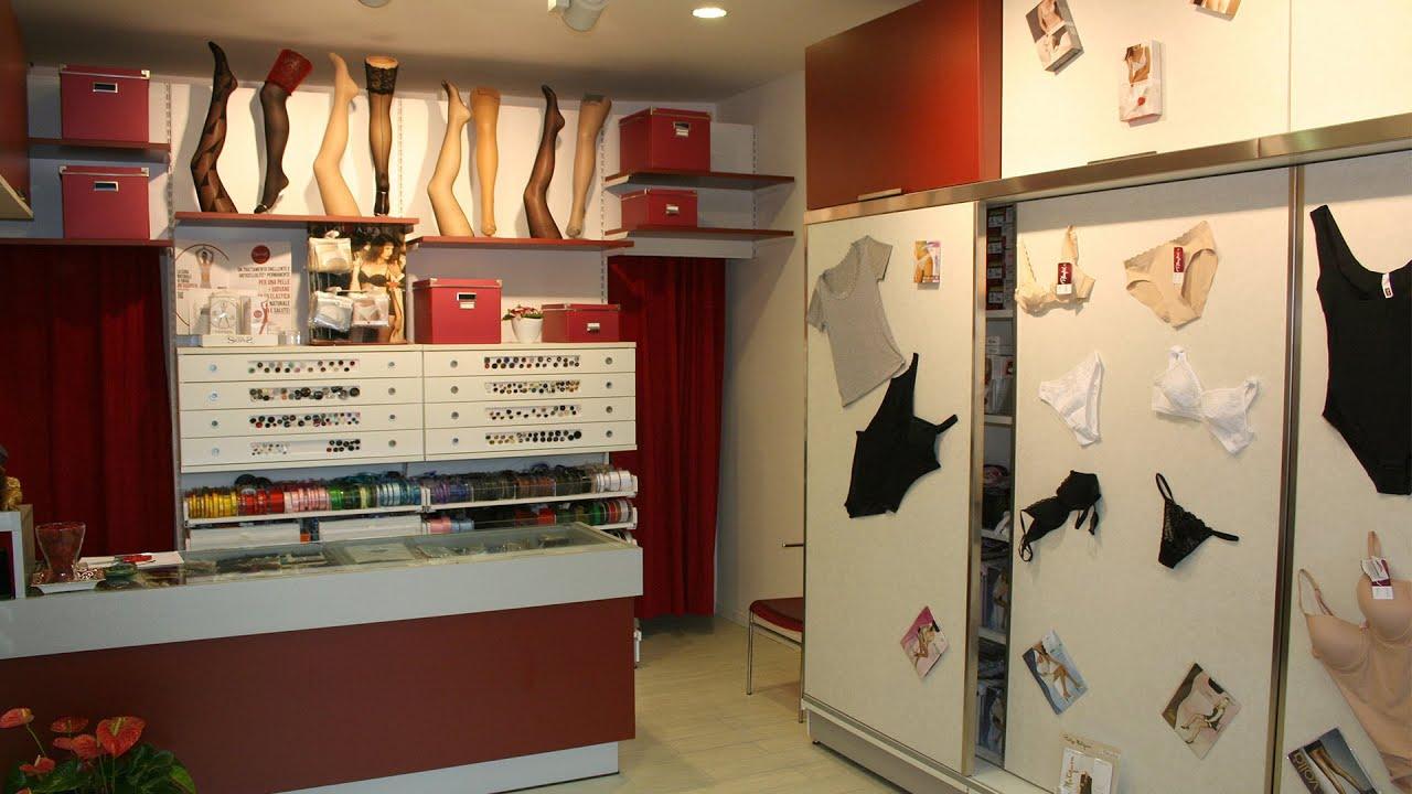 arredamento merceria biancheria intima ekip arredamenti per negozi ... - Arredamento Negozio Abbigliamento Fai Da Te