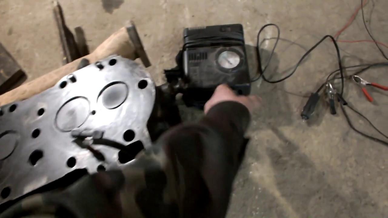 Ямз-238 Опрессовка головки подручными средствами - YouTube