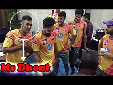 Rising Pune Supergiants Funny Moments in Ipl 2017 - Ms Dhoni..