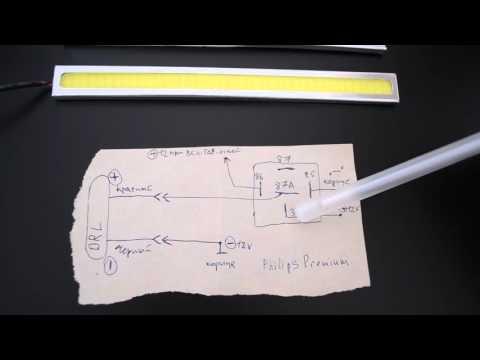Как подключить дневные ходовые огни (DRL) при помощи реле