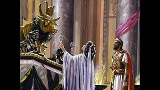 El rey Ahab de Israel y la reina Jezabel