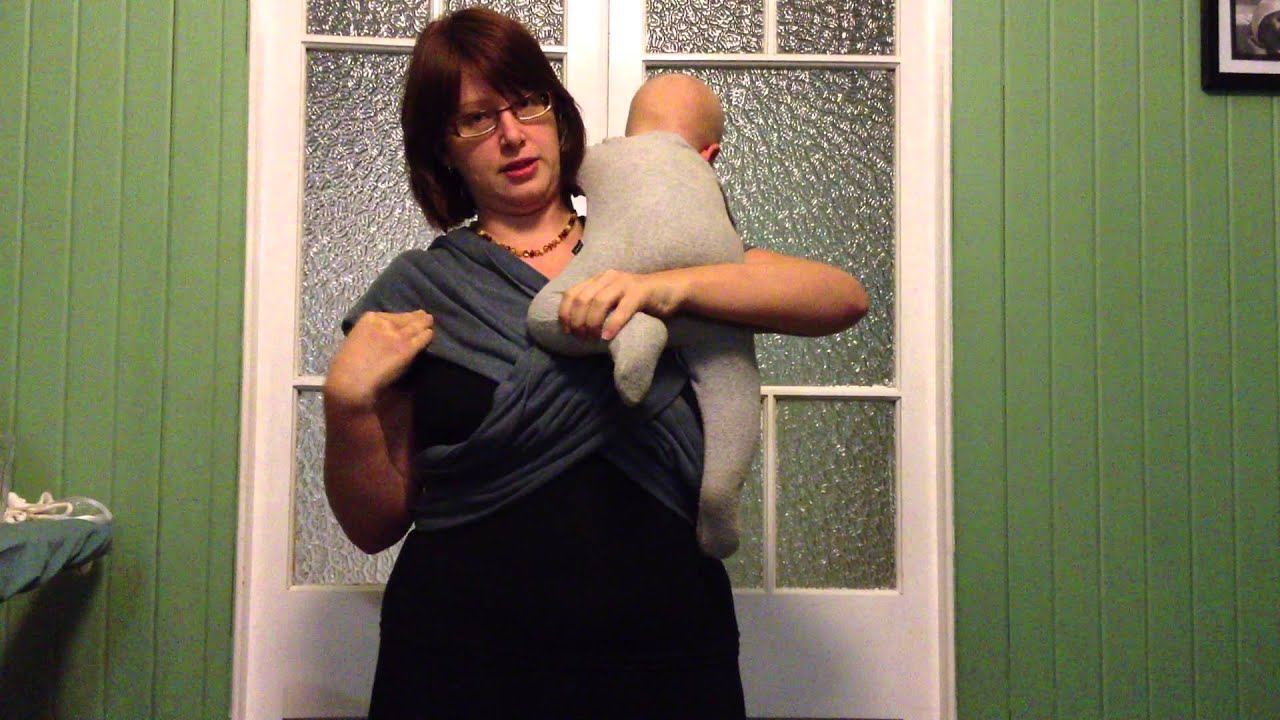077720f3a1a Combi-Cotti® Baby Carrier - instruction for general wearing - YouTube