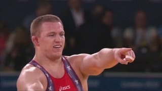 Jacob Varner Wins Freestyle 96 kg Olympic Wrestling Gold - London 2012 Olympics